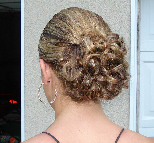 Semi-Formal Updo Hairstyles