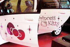 hello kitty car accessories princess kitty